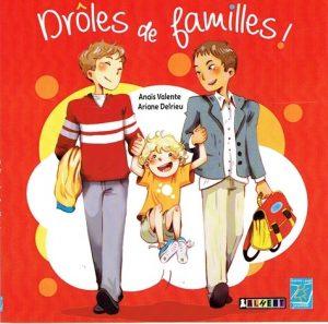 Drôles de familles ! - couverture