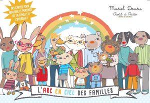 L'arc en ciel des familles - couverture