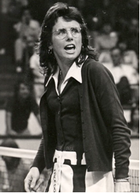 Billie Jean King - portrait