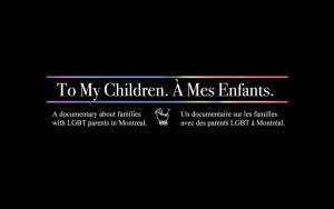 To My Children. À Mes Enfants. - couverture