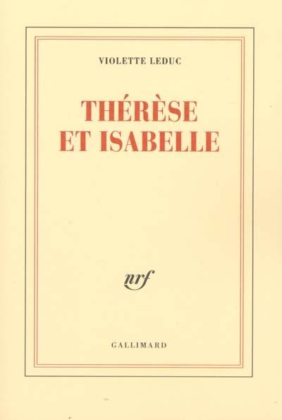 Thérèse et Isabelle - photo