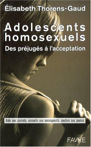 Adolescents homosexuels. Des préjugés à l'acceptation - photo