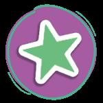 Pastille étoile