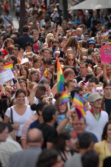 Image d'une Marche des fiertés