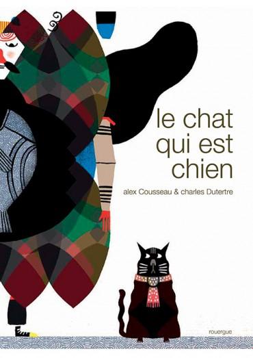 livre enfant Le chat qui est chien couverture